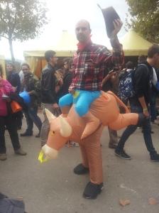 Uomo mucca