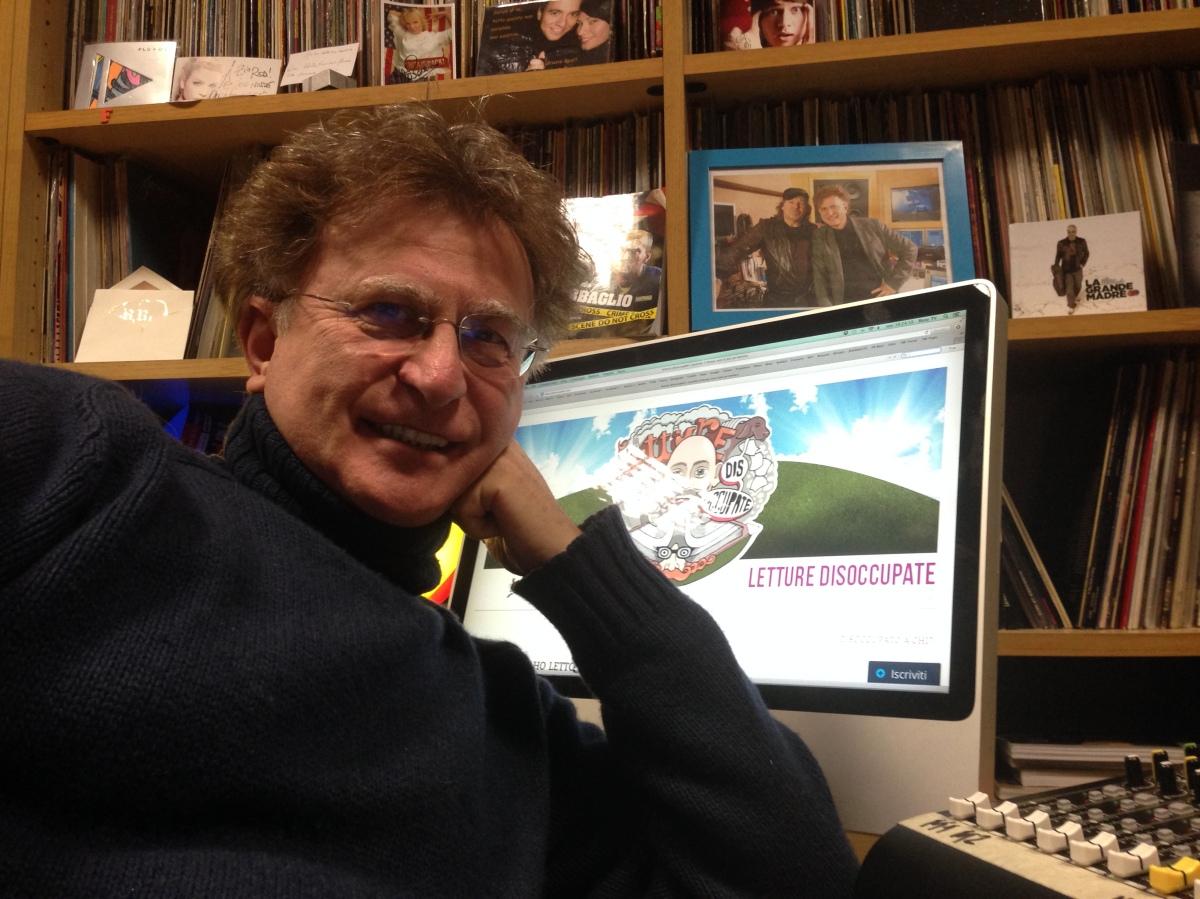 L'intervista. Red Ronnie: Twitter, i fumetti e lo zucchero.